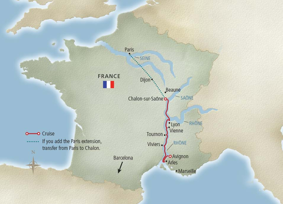 Portraits Of Southern France - River cruises in france