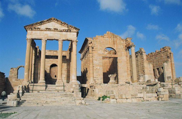 In The Traces Of The Roman Empire